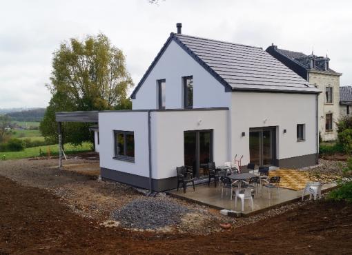 Transformation d'une étable en habitation